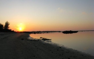 佐和田の浜夕陽IMG_0462