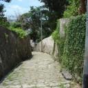 錦城町の石畳道