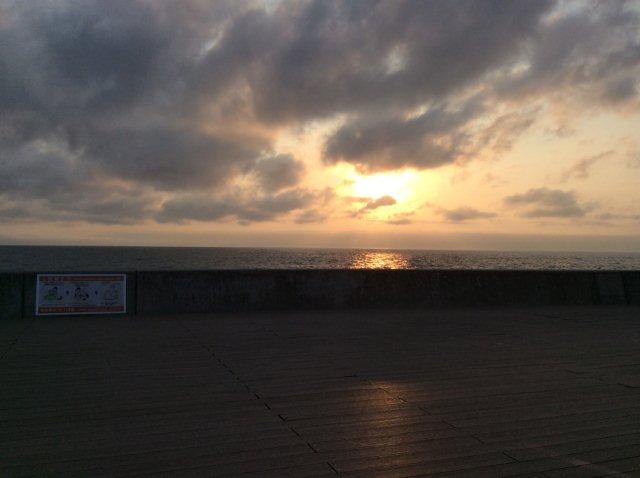 砂辺 夕陽IMG_2330
