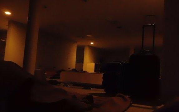 2等船室内消灯後