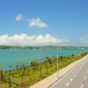 海中道路 沖縄本島